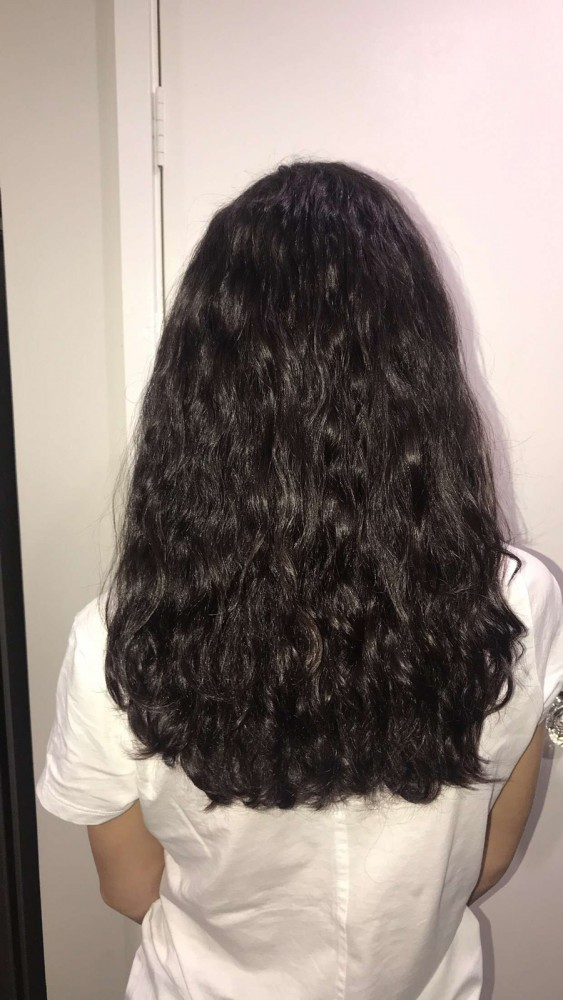 Get soft hair using diffuser